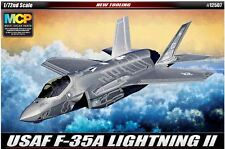Academy 1/72 USAAF F-35A LIGHTNING II Aero Plastic Model Kit Military Gift 12507