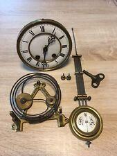 Altes Lenzkirch Uhrwerk Für Regulator Pendeluhr Defekt Uhrmacher