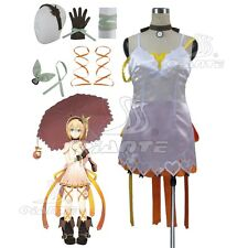 Tales of Zestiria the X Edna Cosplay Costume Full Set Custom Made Fancy Dress