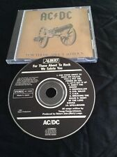 AC/DC FOR THOSE ABOUT TO ROCK CD MADE IN JAPAN CDP 7466652 FOR AUSTRALIA  ALBERT