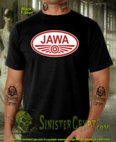 Jawa Motorcycles t-shirt, Classic Czech Motorcycle Moped, sizes: Small to 6XL