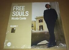 NICOLA CONTE Free Souls SPECIAL EDITION Volume 1 & 2 LP Vinyl SEALED Third Eye