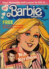 Barbie Magazine No.3     29 November - 12 December 1985     Nik Kershaw