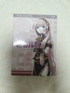 VOCALOID2 Character Vocal Series 03: Luka Megurine  Windows  PC Software Used JP