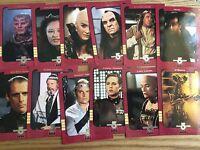 Skybox Season 4 Babylon 5 Season 1 Retrospective Trading Card Set S1-S12