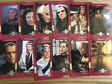 Skybox Babylon 5 Season 4 Retrospective Trading Card Chase Set S1-S12