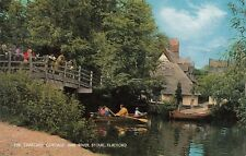 Postcard - Flatford - The Thatched Cottage and River Stour