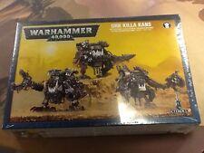 40K Warhammer Ork Killa Kans NIB Sealed