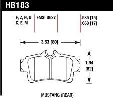Hawk Performance HB183F.585 Virtually Noise-Free Disc Brake Pads