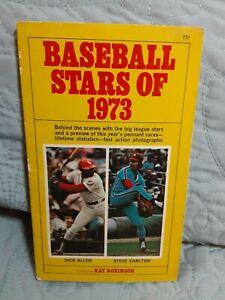 Baseball Stars of 1973, edited by Ray Robinson with Dick Allen & Steve Carlton
