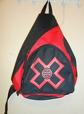 X Games by Concept One Sling Backpack Black & Red NWT