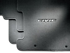 Genuine OEM 2006-2011 Honda Civic 4Dr Sedan Gray Carpet Floor Mat Set