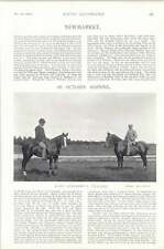 1896 Horse Race Newmarket Lord Rosebery's Trainer Thessalian Sale Paddocks