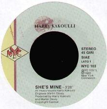 HARRY KAKOULLI - She's Mine - New York Connexion - NYC 103 - 1983 - Ita