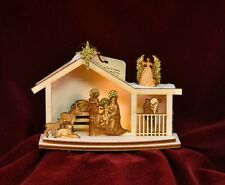 GINGER COTTAGES GINGER NATIVITY CHRISTMAS ORNAMENT MADE IN USA GC122