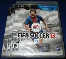Lot of 3 FIFA Soccer 13 Sony PlayStation 3 - PS3 - *Factory Sealed! *Free Ship!