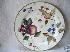 """Zrike Floral Fruit & Flowers Design 8 1/2"""" Breakfast Bread & Butter Plate"""