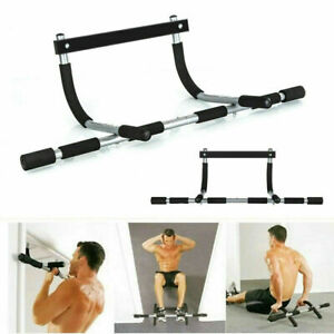 GYM FITNESS BAR CHIN UP PULL UP STRENGTH SITUP DIPS EXERCISE WORKOUT DOOR BAR