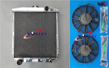 3 Row Aluminum Radiator+FAN For FORD FAIRLANE CAR SEDAN WAGON MAINLINE 1954-1956
