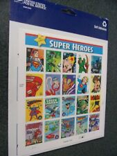 DC Comics Super Heroes 2005 39 Cent Postage Stamp Sheet - NEW / SEALED