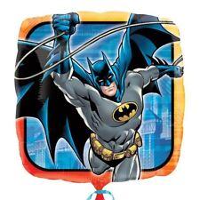 """Batman 17"""" Cuadrado Globo metalizado - Dc Súper heroe Cumpleaños"""