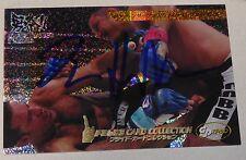 Dan Henderson Signed 2006 Pride FC Grand Prix Holo Foil Card #121 UFC Autograph
