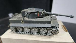 Solido Char Tigre No 222 12/1969 King Tiger German Army WWII No I