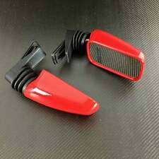 Ducati OE red left & right hand mirror pair / mirrors 851 888 SP5 900SS
