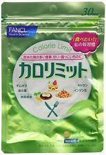 FANCL Calorie Limit Diet Weight loss Supplement 30days 120tbs Japan New