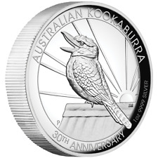 Perth Mint Australien 30 Jahre Kookaburra 2020 30th High Relief 1 oz 999 Silber