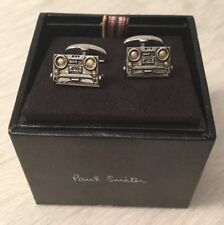 AUTHENTIC Paul Smith Men's Cufflinks Music Retro Boomboxes w/ Tag ($150 USD)