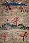 Hand-knotted Rug (Carpet) 3'3X4'8, Gabeh mint condition