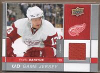 2009-10 Upper Deck Game Jerseys #GJPD Pavel Datsyuk Jersey