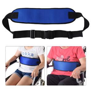 Wheelchair Harness Safety Strap Seat Belt Band for Elderly Prevent Sliding