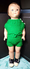 """GRACE DRAYTON ~ COMPOSITION & CLOTH DOLL ~ 14"""" ~ NON-WORKING SOUND BOX ~ 1923ish"""