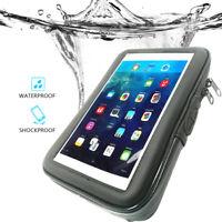 Universal Motorcycle Handle Bar Mount Waterproof Bag for 6.5-7 inch iPad Mini