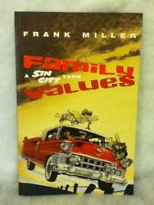 Dark Horse Comic Family a Sin City Yarn Values by Frank Miller 1st Edition