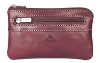 1847c9a34b Tony Perotti RFID Coin purse with key chain inside Premium Italian Leather  1013