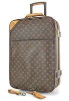 Authentic LOUIS VUITTON Pegase 55 Monogram Canvas Travel Rolling Suitcase #35267