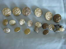 GROUP OF 20 VINTAGE US MILITARY BUTTONS