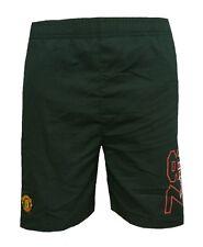 Niños 3/4 años Manchester United Tejido Pantalones Cortos Niños Fútbol Man UTD Infantil