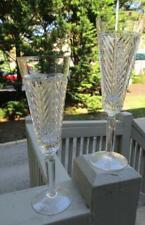 Pristine  (ONE)  Ralph Lauren CLASSIC Herringbone Champagne Flute **2 Available*