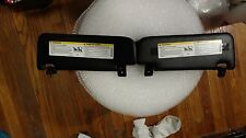 12 13 14 FIAT 500 ABARTH ABARTH SUN VISORS SET BLACK LEFT AND RIGHT