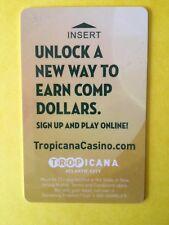 "Tropicana Casino Resort Room Key Card ""Unlock A New Way"" Atlantic City, NJ"