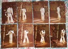 ELVIS 16 PHOTO SET-LAST CONCERT-1977 INDIANAPOLIS w/ Stub &  FREE CD!