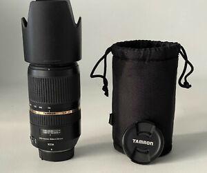Tamron SP 70-300mm f/4-5.6 AF DI VC USD Teleobjektiv für Nikon