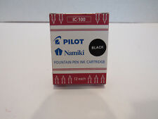 Pilot Namiki Fountain Pen Ink Cartridges (Refill) - Black (12 each)