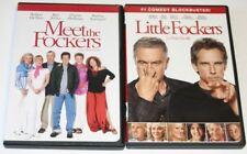 MEET THE FOCKERS & LITTLE FOCKERS DVDs.  Robert Deniro, Ben Stiller.  2 DVDs