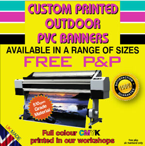 Printed PVC Weatherproof Banners for Outdoor use Vinyl Banner Advertising Signs