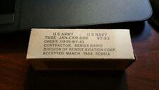 Vintage Nos.Nib. Bendix Radio electron tubes Vt-93 (Jan-Ckr-6B8) From 1944